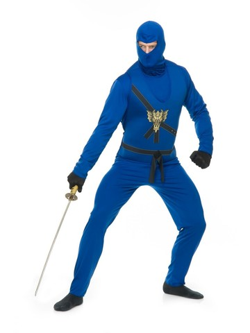 Adult Ninja Avenger Blue