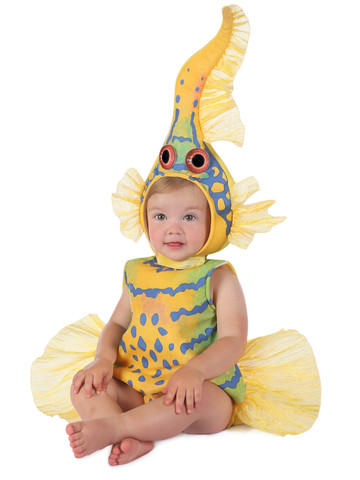 Baby Anne Geddes Yellow Gobi Fish Costume