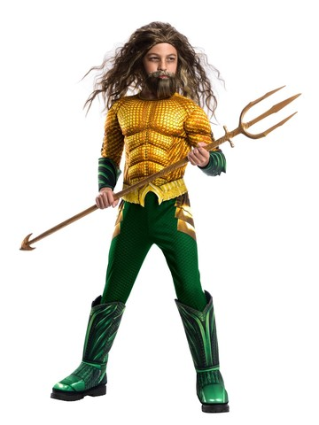 Aquaman Boys Deluxe Costume