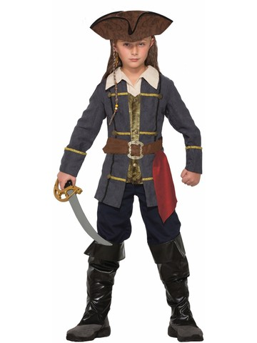 Captain Cutlass Pirate Boys Costume
