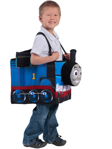 Boy's Children's Thomas The Tank Engine Ride In Train Costume