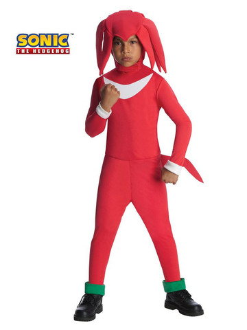 Boy's Knuckles Sonic the Hedgehog Costume