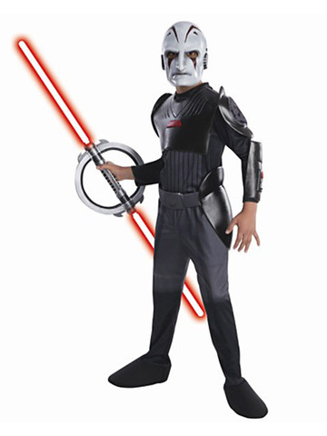 Boys Star Wars Rebels Inquisitor Deluxe Costume