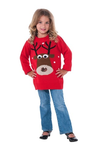 Childrens Reindeer Sweater