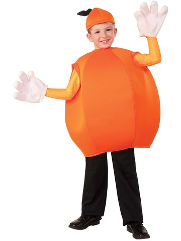 Childs Orange Costume