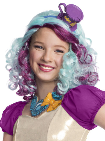 Ever After High Madeline Hatter Wig w/ Headpiece