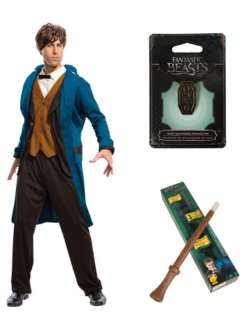 Fantastic Beasts and Where to Find Them Newt Adult Costume Kit