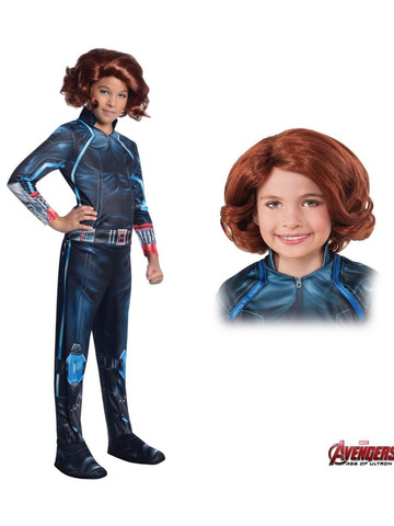 Girl's Avengers 2 Black Widow Costume Kit