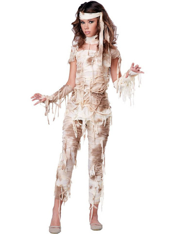 Girl's Mysterious Mummy Costume