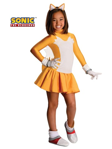 Girls Tails The Fox Costume