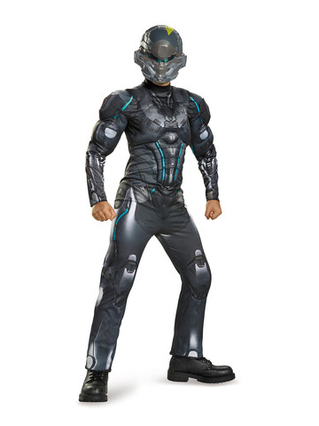 Halo Boys Spartan Locke Classic Muscle Chest Costume