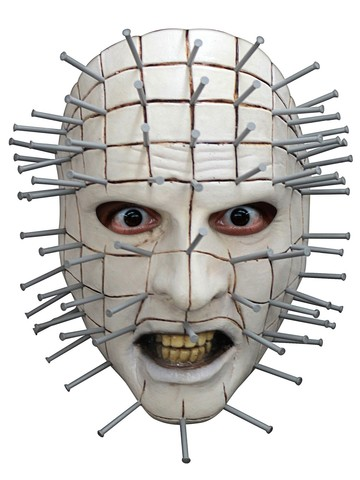 Pinhead Face Adult Mask
