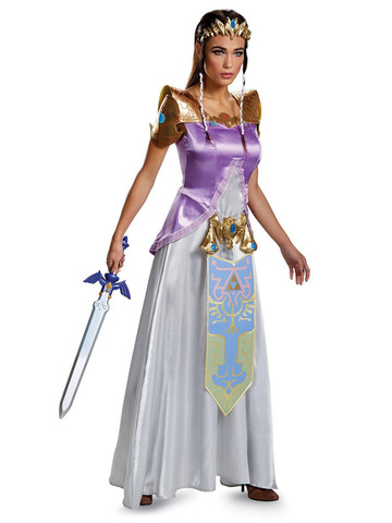 Legend of Zelda Princess Zelda Deluxe Adult Costume
