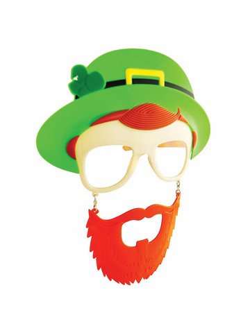 Leprechaun Sunstaches Glasses