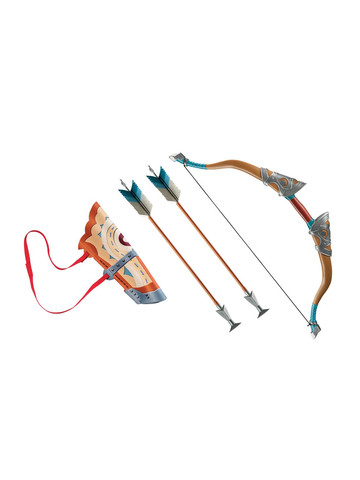 Link Breath Of The Wild Deluxe Bow Set W/Quiver & Arrows