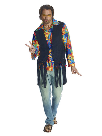 Men's Flower Power Hippie Costume