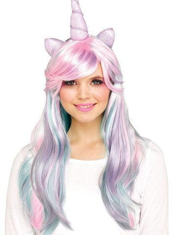 Dark Haired Unicorn Wig