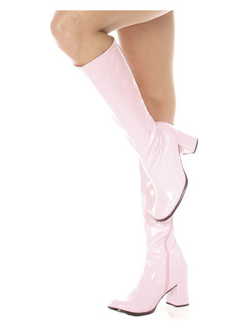 Pink Patent Gogo Boot Adult
