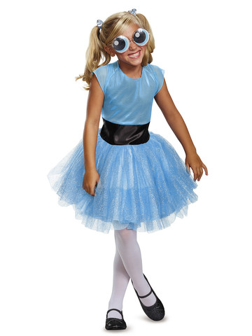 Girls Powerpuff Bubbles Tutu Costume Deluxe