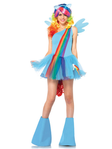 Sexy My Little Pony Rainbow Dash Costume