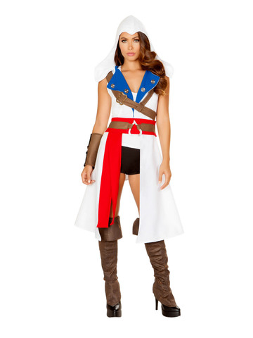 Sexy The Assassins Protector Costume