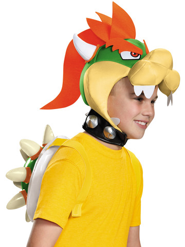 Super Mario Brothers Children's Bowser Kit