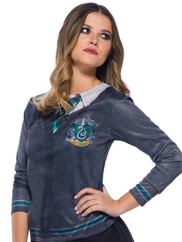 The Wizarding World Of Harry Potter Slytherin Costume Top for Adults