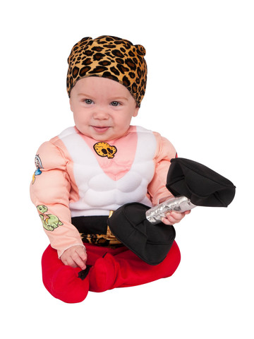 Muscleman Costume for Toddlers
