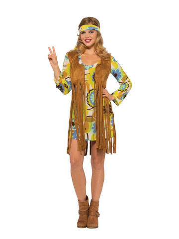 Womens 1960's Groovy Lady Costume