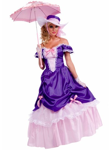 Womens Blossom Southern Belle Adult Costume