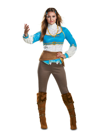 Zelda Breath Of The Wild Womens Costume